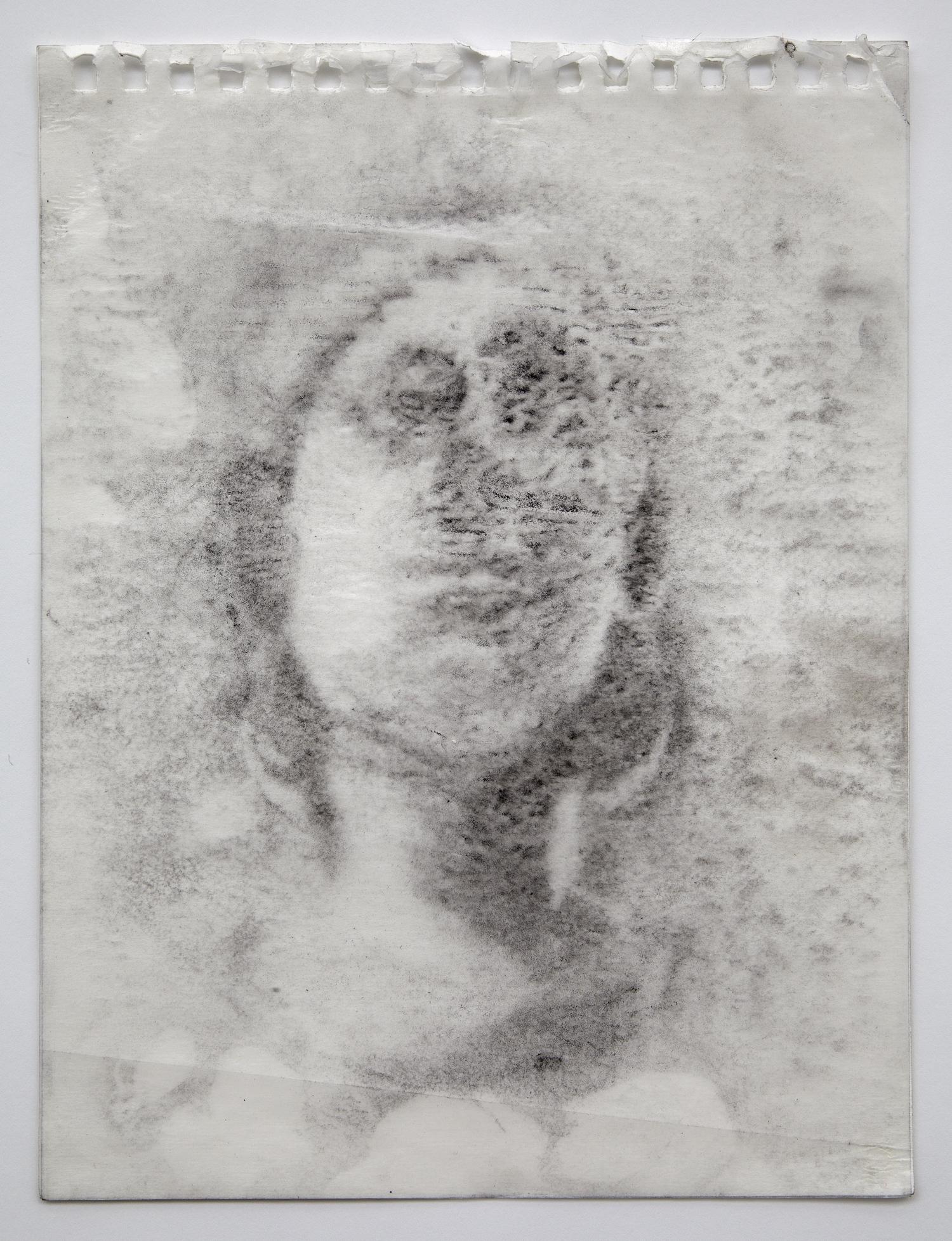 Interleaf Drawing (Roman Sculpture), 2013