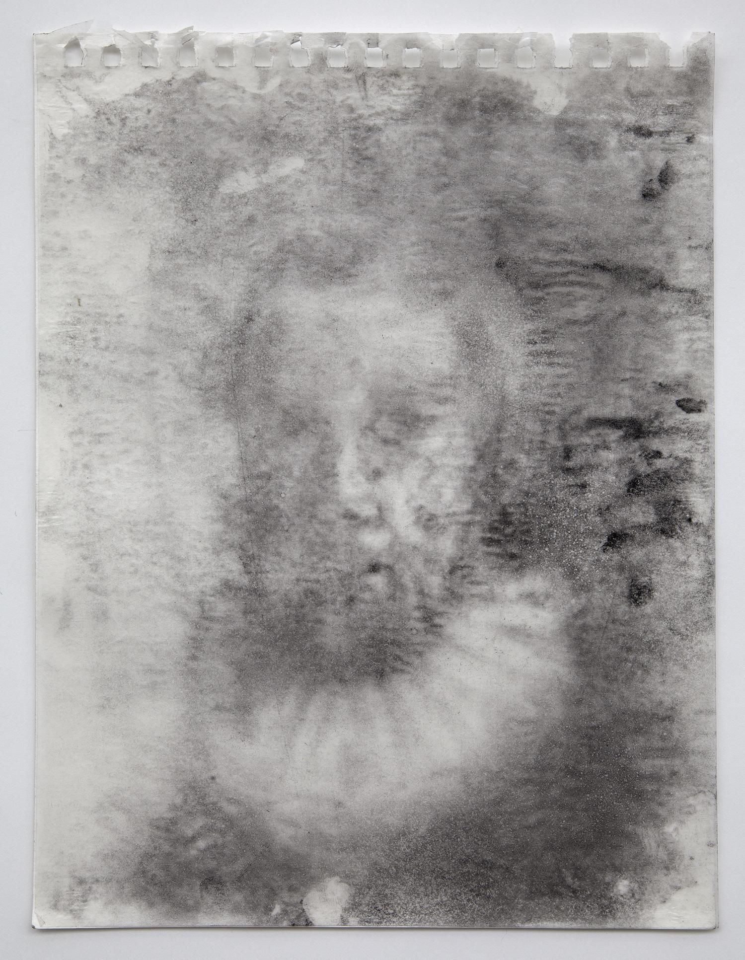 Interleaf Drawing (after Rembrandt), 2013