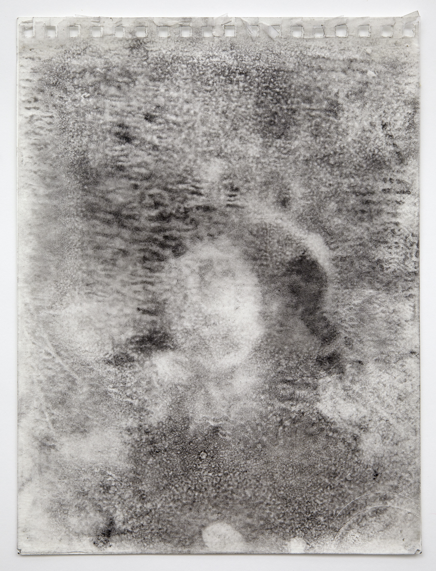 Interleaf Drawing (after Courbet), 2012