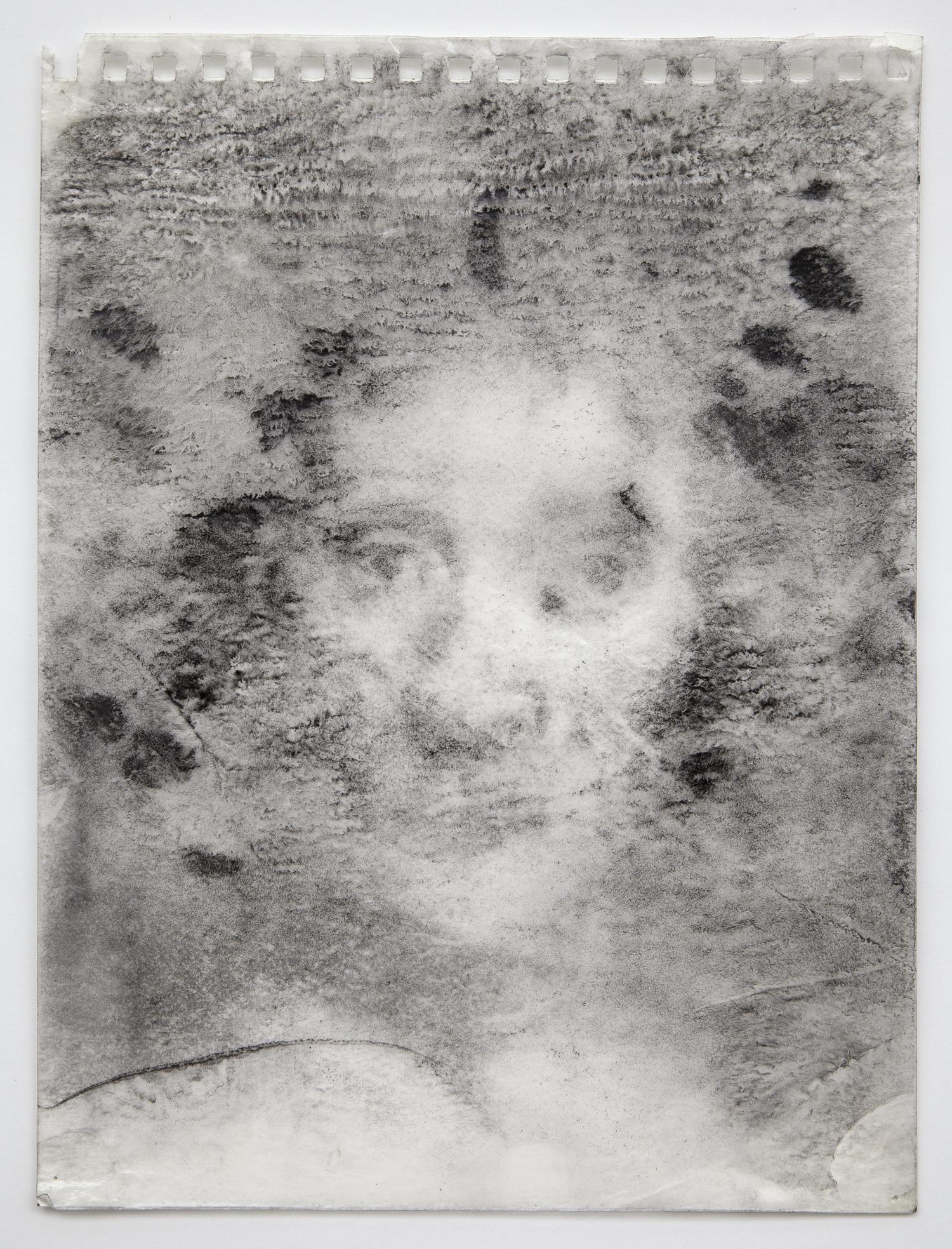 Interleaf Drawing (after Rembrandt), 2012