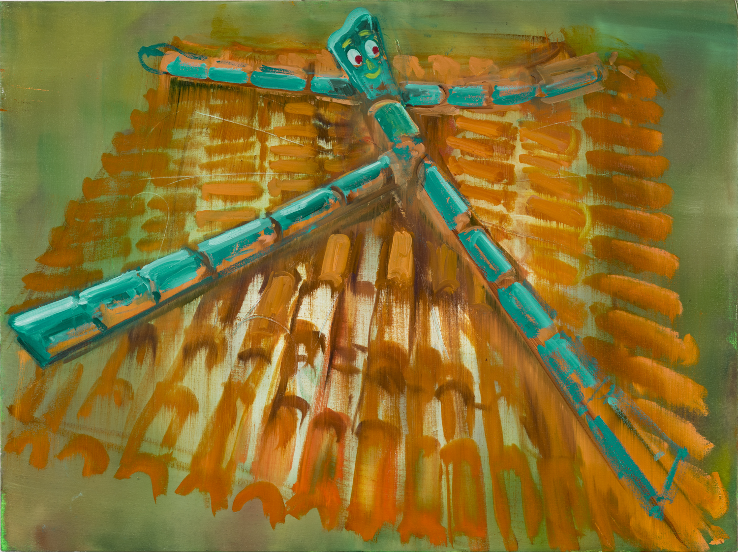 Roof with Gumby, 2016