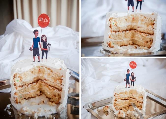 eating-year-old-wedding-cake-anniversary-photo.jpg