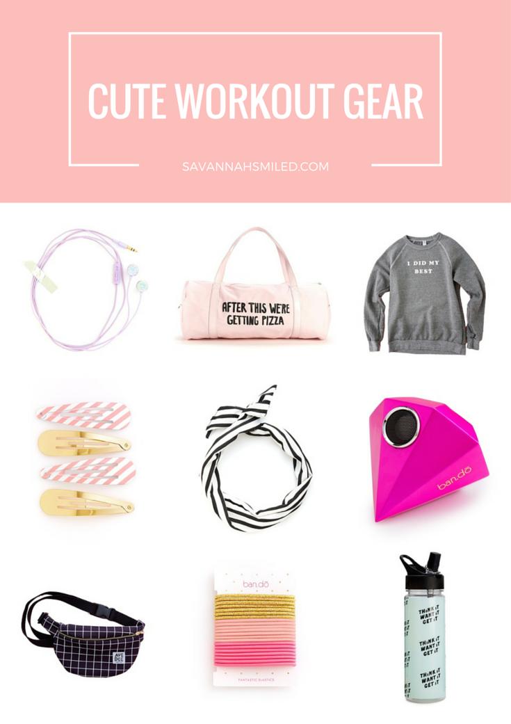 Earbuds  |  Pizza Duffle Bag  |  My Best Sweatshirt  |  Hair Clips  |  Hair Scarf  |  Speaker  |  Fanny Pack  |  Ponytail Holders  |  Motivational Water Bottle