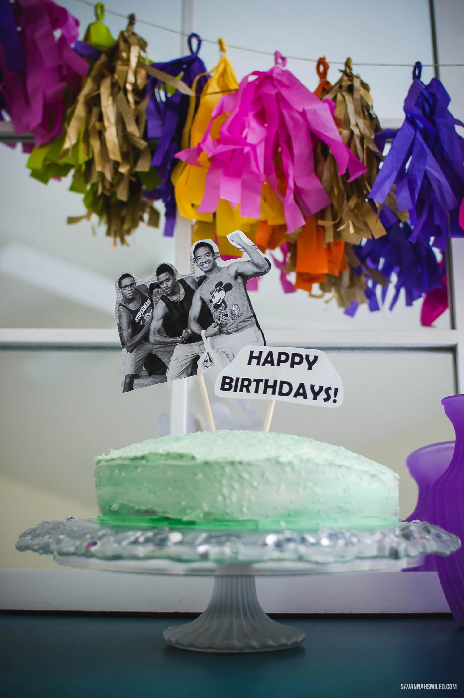 ombre-green-birthday-cake