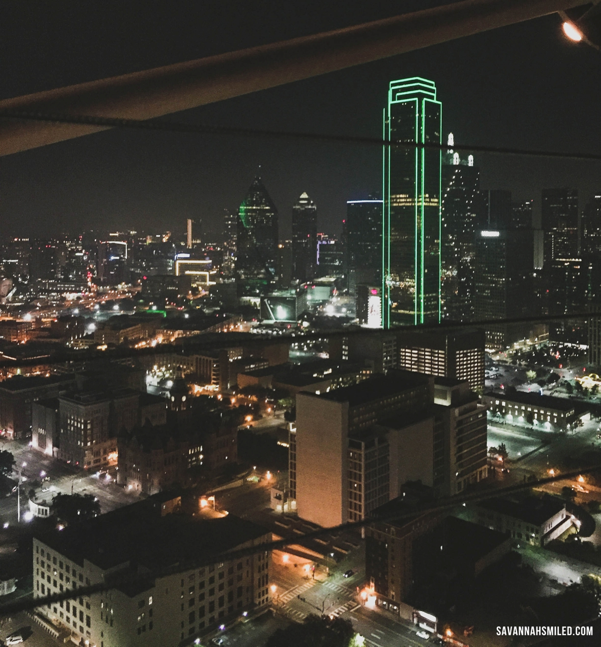 Reunion Tower Dallas City View