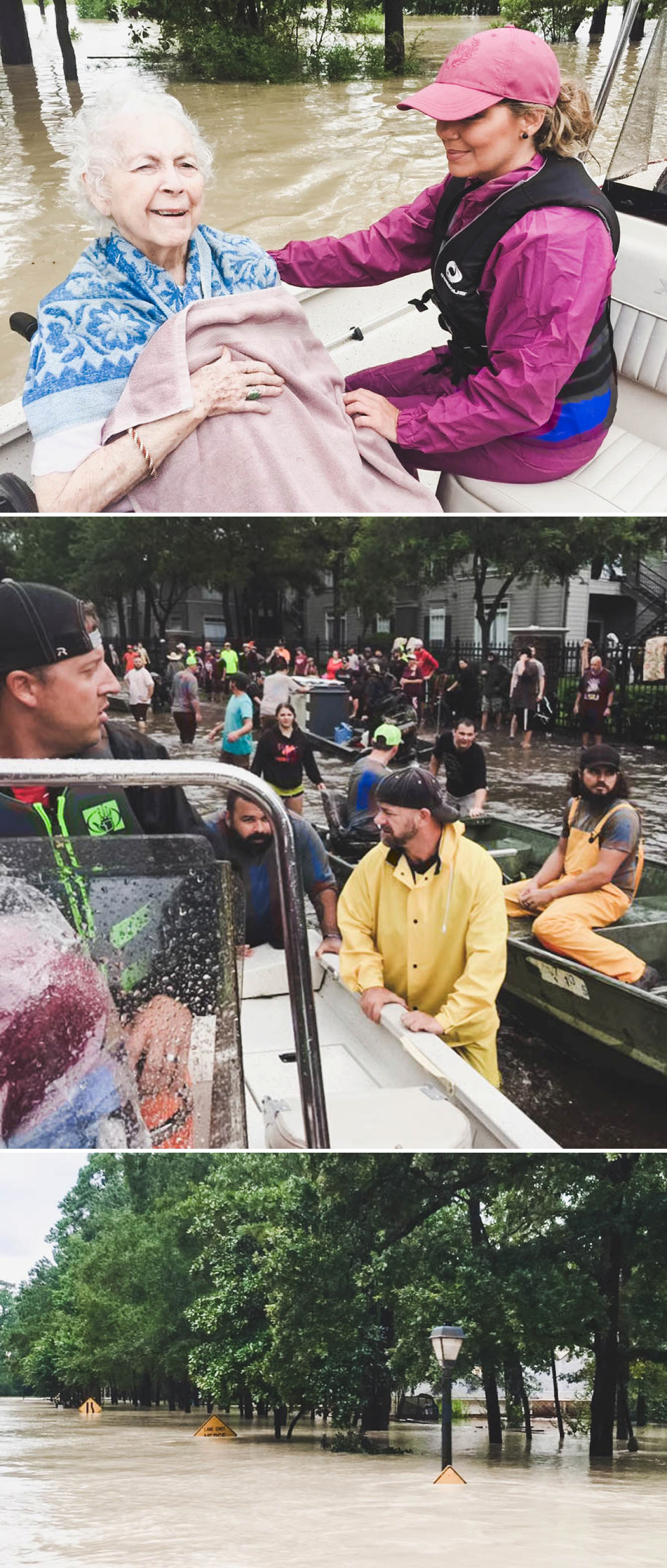 Images used with permission from my hometown (Hawkins, TX) friends who have taken boats down south to help with rescue efforts |   Jay.Lindsay.73