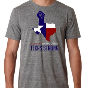 "Oliver & Otis | ""Texas Strong"" shirt: $25"