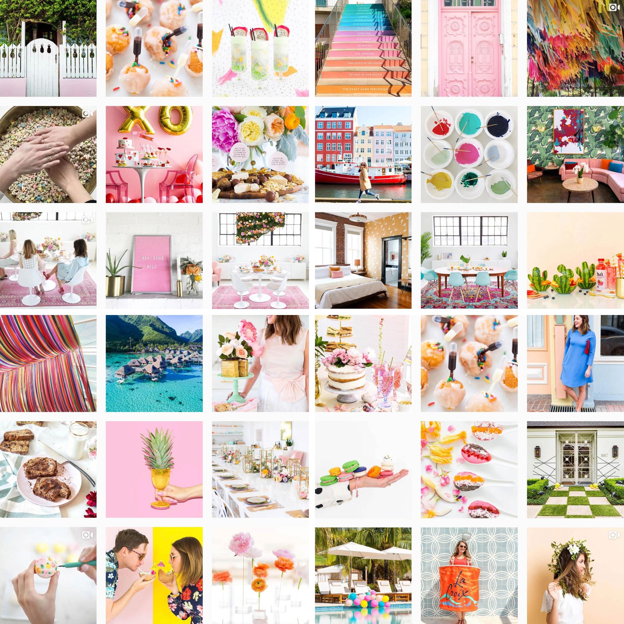 Follow Sugar and Cloth on Instagram