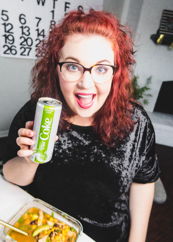 Ginger Lime Diet Coke