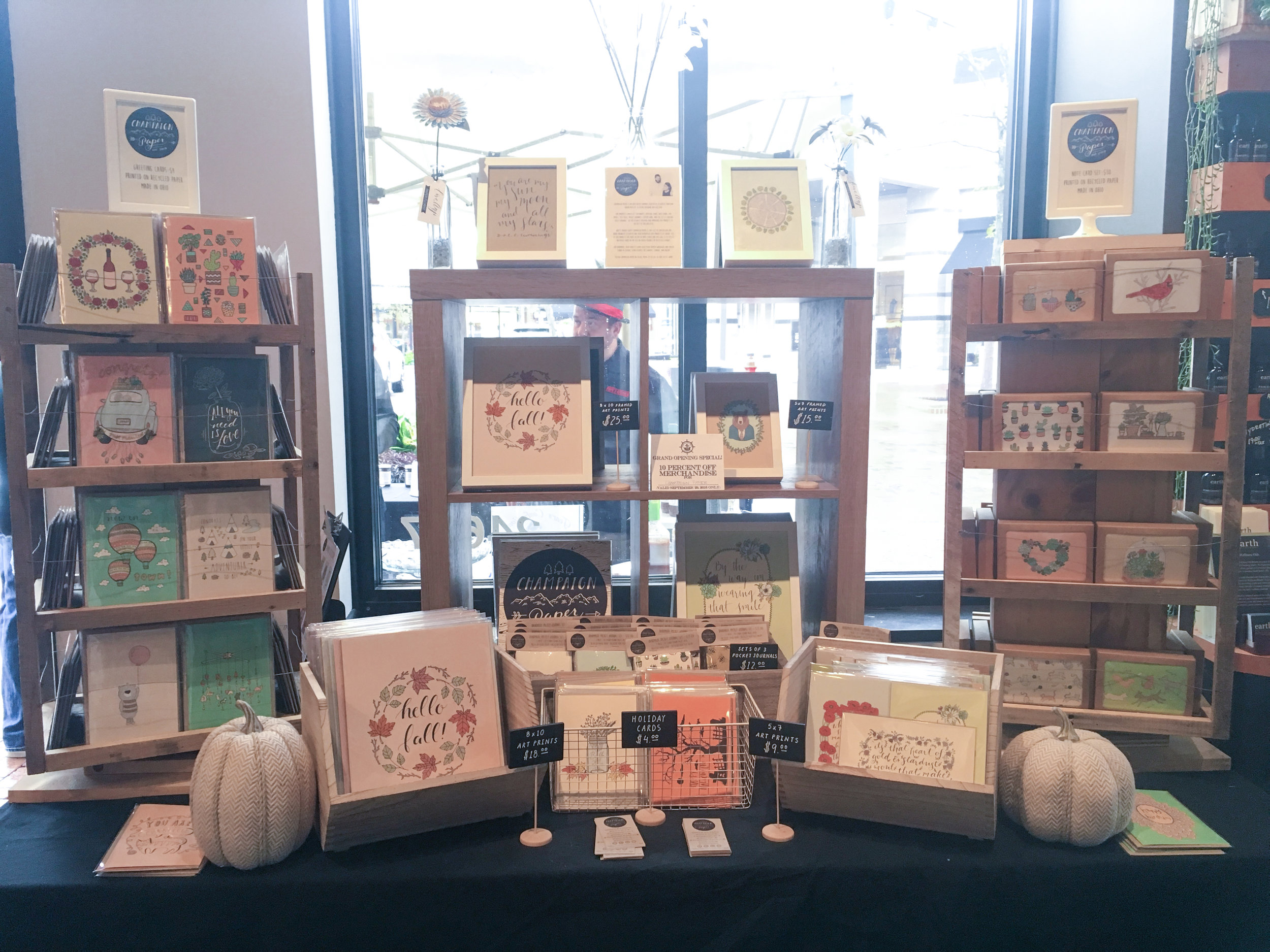 Champaign Paper's Display