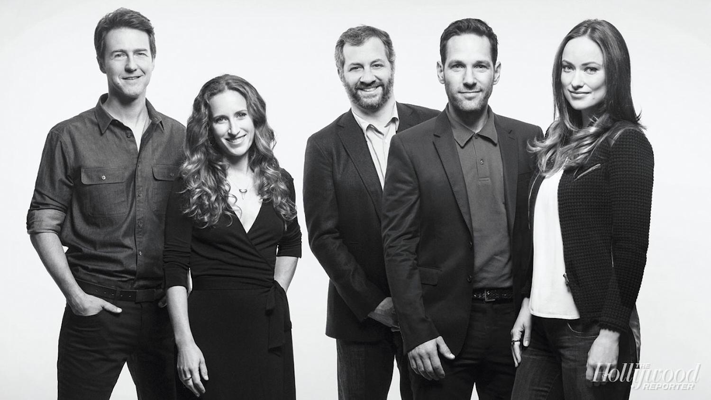 Edward Norton, Shauna Robertson, Judd Apatow, Paul Rudd, Olivia Wilde - Eric Ryan Anderson