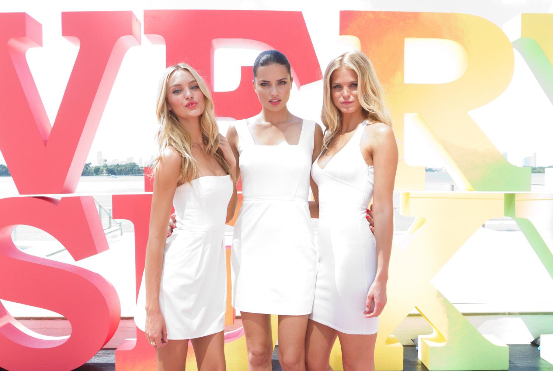 Candice Swanepoel, Adriana Lima & Erin Heatherton