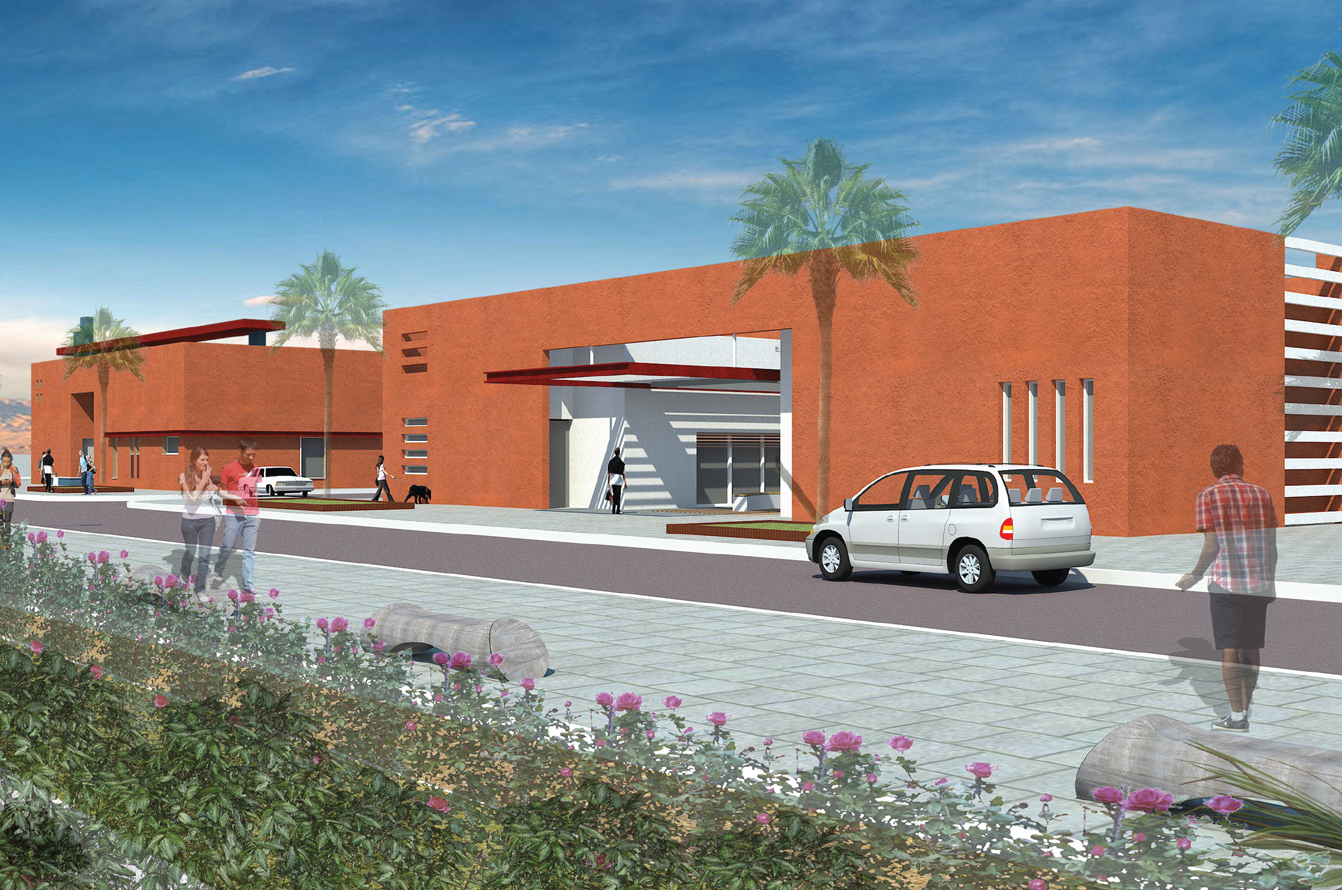 First image of the planned Rescue Center in the Central_Arava