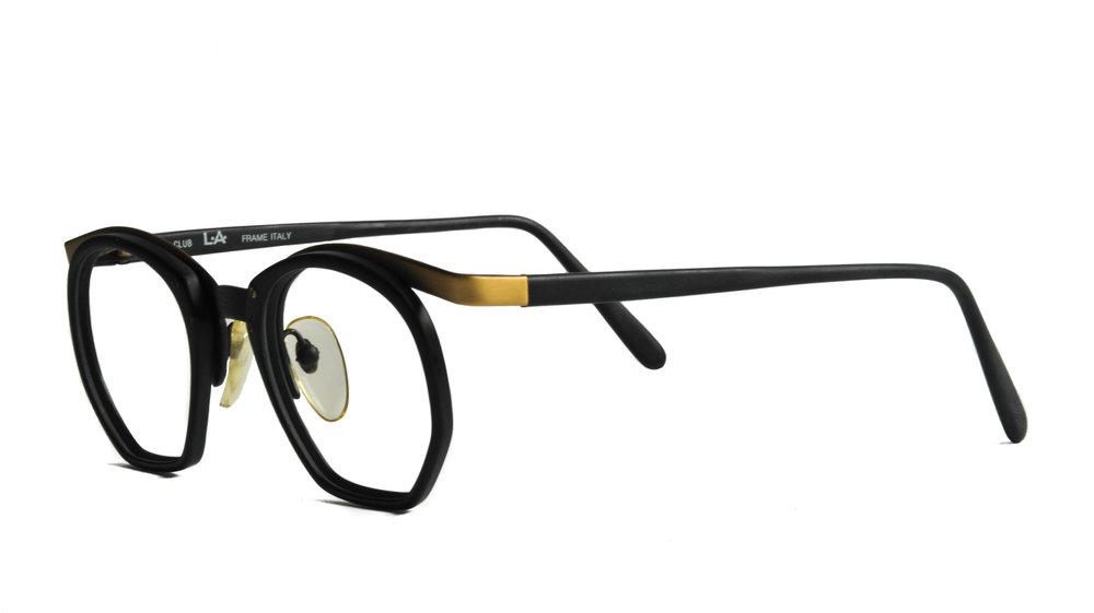 Club LA 9103 Men\u2019s Women\u2019s Plastic Black Havana Rectangular Eyeglasses 90\u2019s Austria