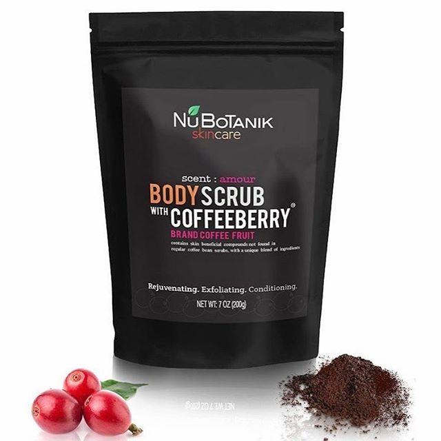 Have smooth vacation skin all year round 😉 👉@nubotanik body scrubs with unique Coffeeberry® will help ✔️Exfoliate ✔️Nourish ✔️Provide Antioxidants ✔️Boost Collagen 📱Shop: link in bio @nubotanik