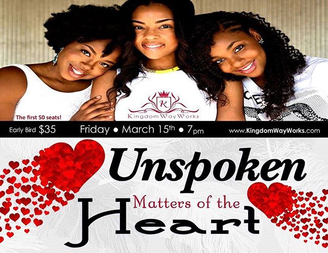 Join Us for Dinner, Great Conversations, Games and much more! Click the LNK in bio for Unspoken Matters of the Heart!