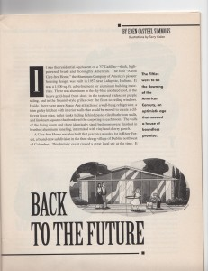 "My original article for ""Ohio Magazine,"" December 1992"