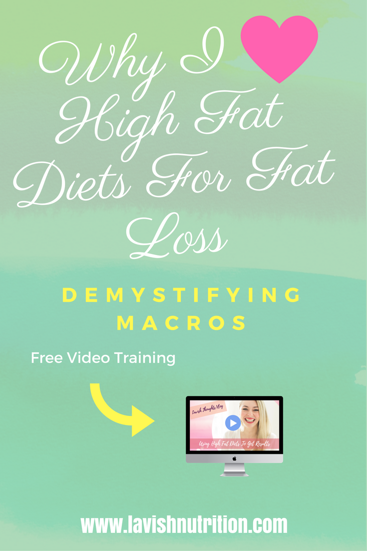 weight loss keto and high fat low carb