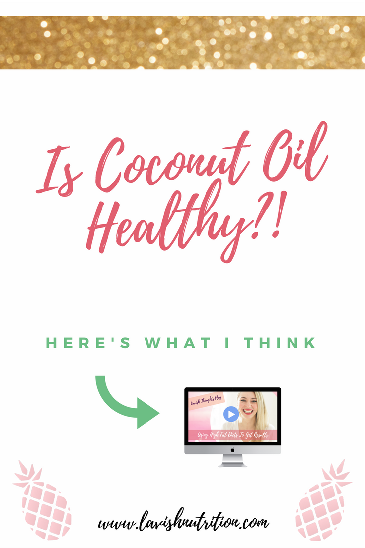 Is coconut oil healthy