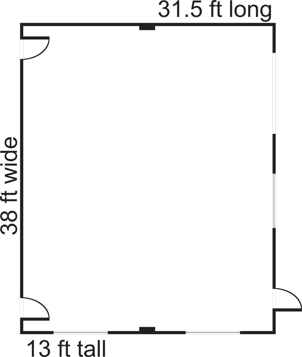 Studio 3 Floor Plan