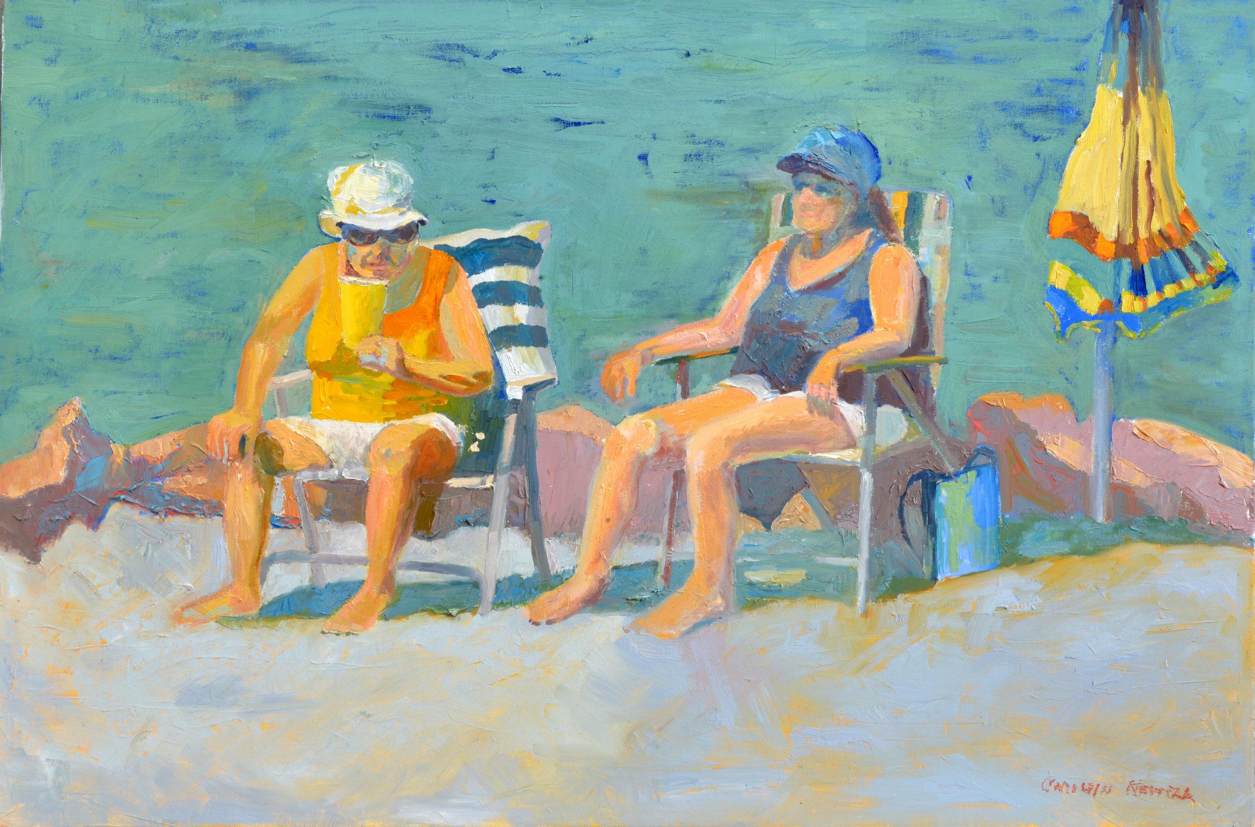 Sunbathers #1