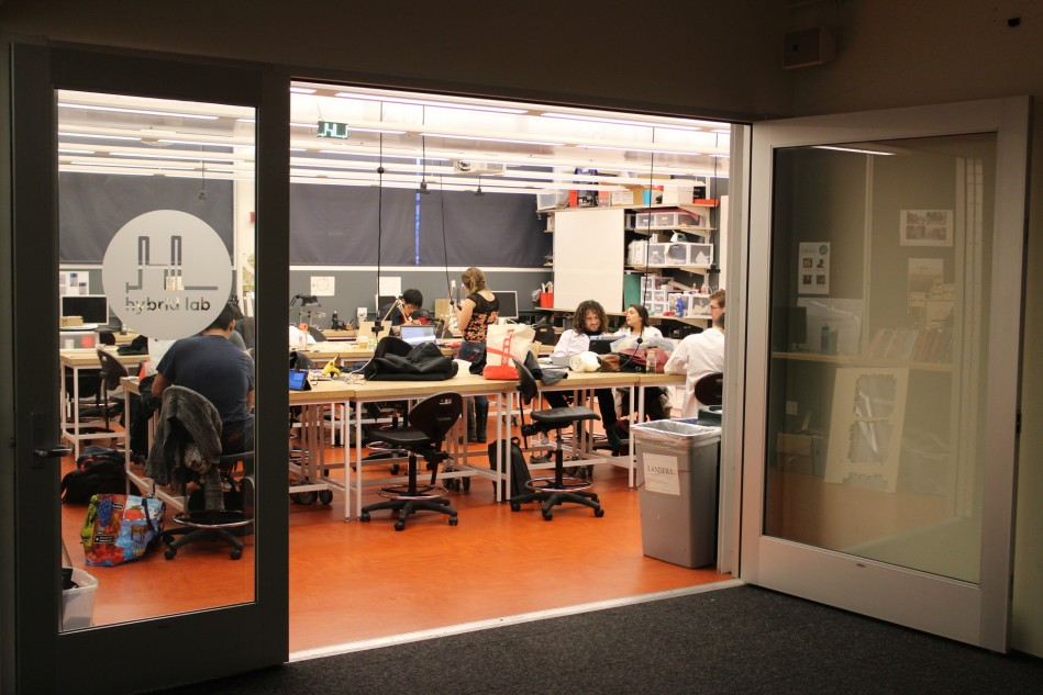 The hybrid lab at CCA
