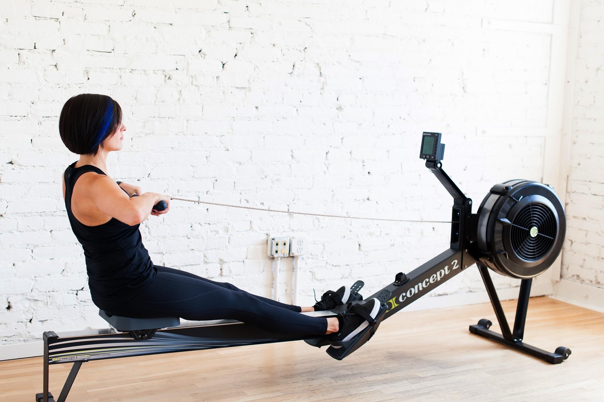 training personal rowing machine rower cardio