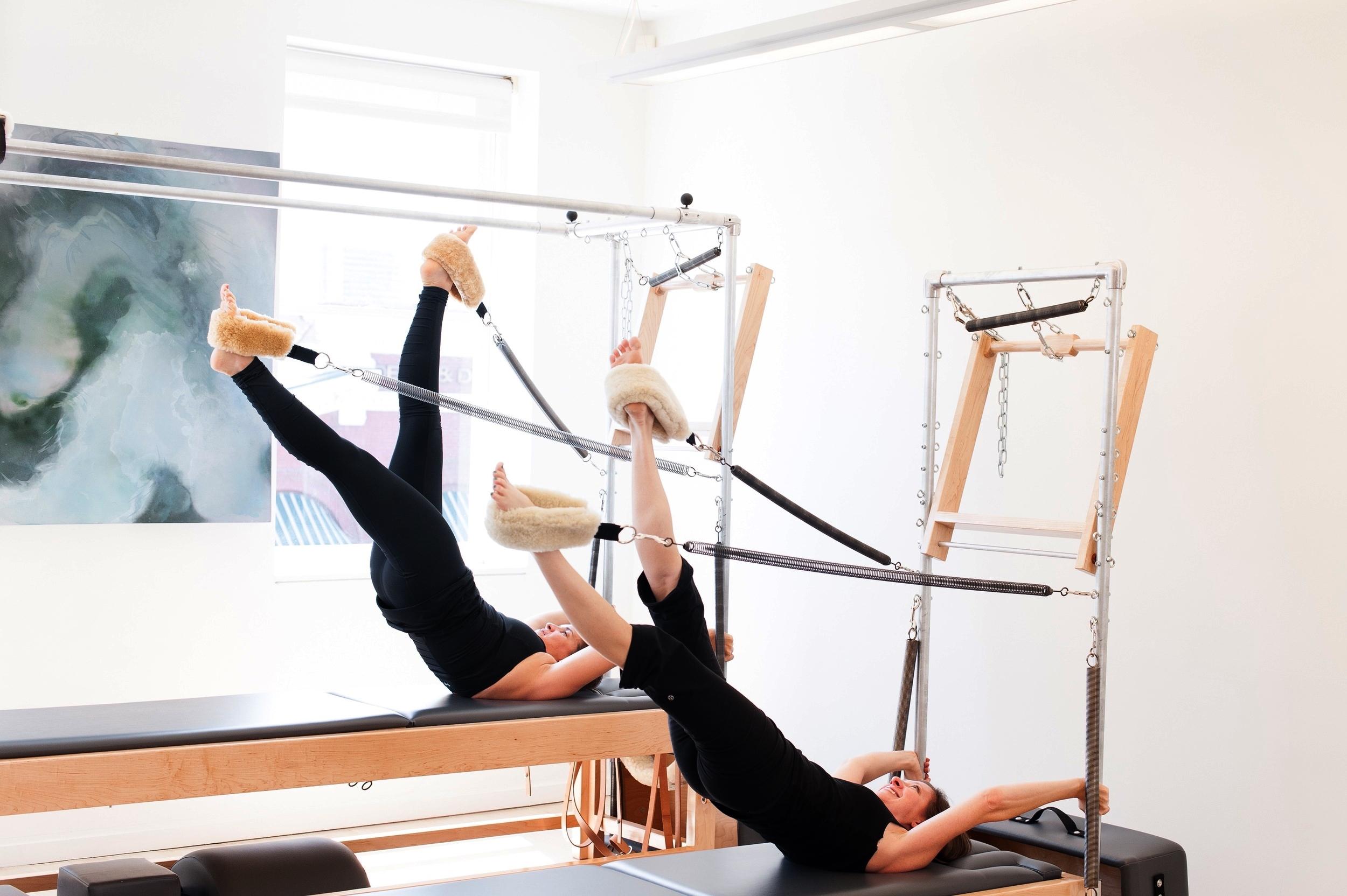pilates duet apparatus tower long lean