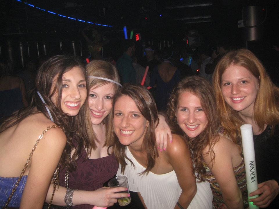 Still reminiscing over my own bachelorette four years ago!