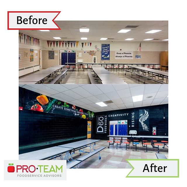 What a fun and exciting transformation to be a part of! 🌟 . If you want to see more, check out the blog post linked in our bio for the full write up on our work with Pueblo City Schools and Visualz. . #proteamadvisors #fresheyes #menusolutions #fiscalsolutions #childnutrition #schoolnutrition #schoolfood #schoollunch #schoolbreakfast #schoolmeals #foodservice