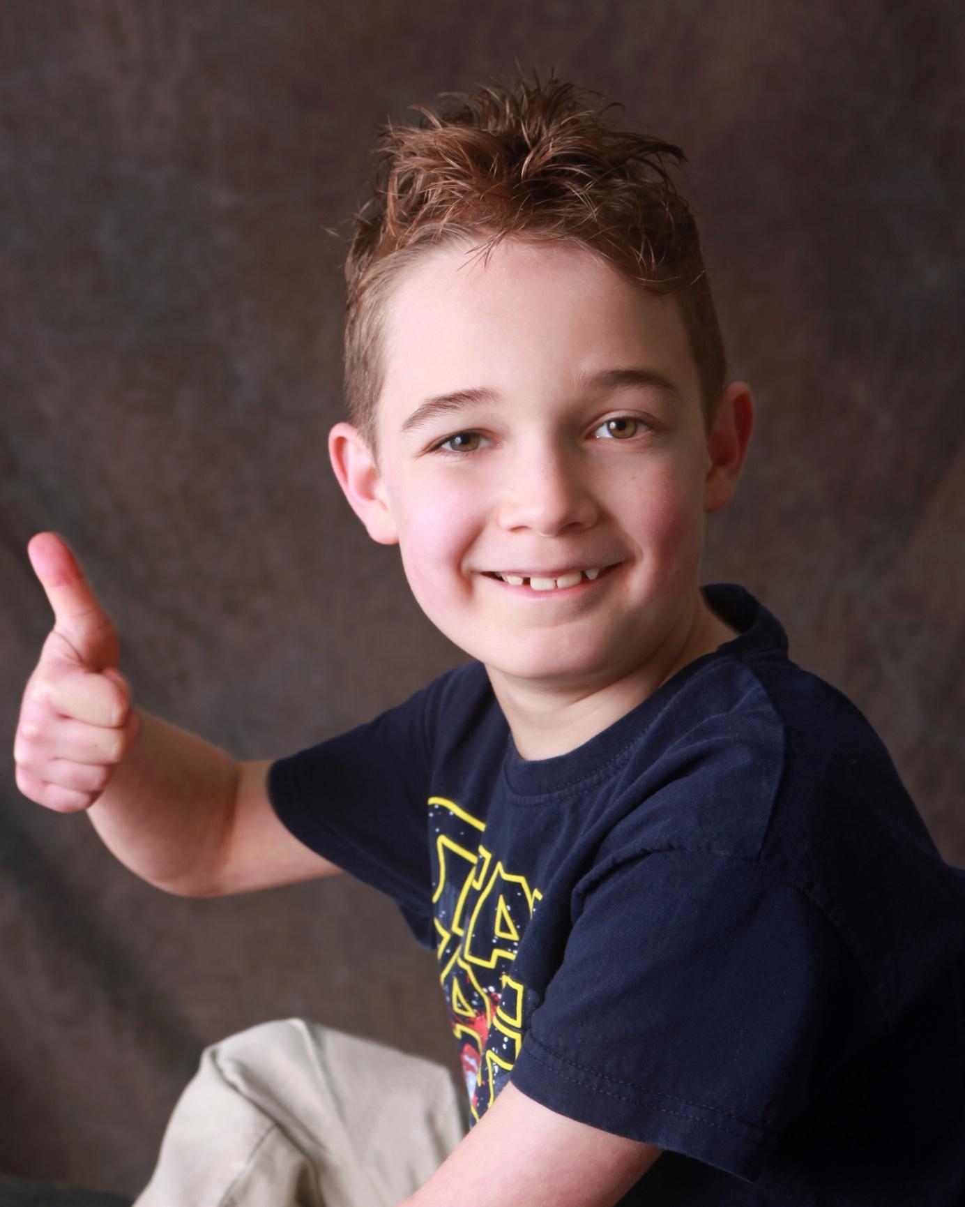 Liam Moon, 8, DAllas
