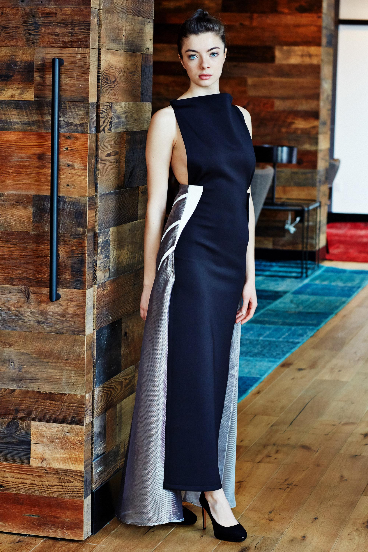 Minika-Ko-Kovasky-Collection-Lookbook-Fashion-Performance-Fabrics-Black-Evening-Gown-With-Reflective-Details-Elegant-Style.jpg