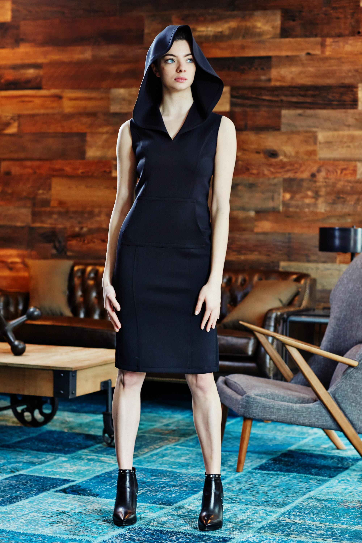 Minika-Ko-Kovasky-Collection-Lookbook-Fashion-Performance-Fabrics-Black-Hooded-Dress-with-Kangaroo-Pockets-Athleisure-Style.jpg