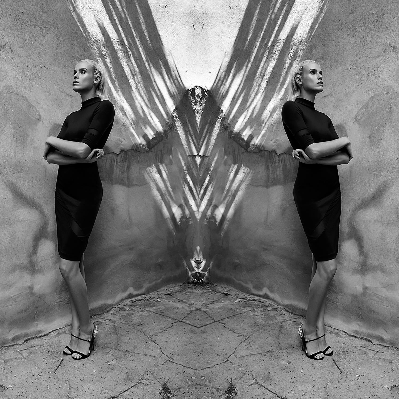 KOVASK Photo by Kristina McManus \ Model Alexa Johns wearing KOVASKY  Alta Dress