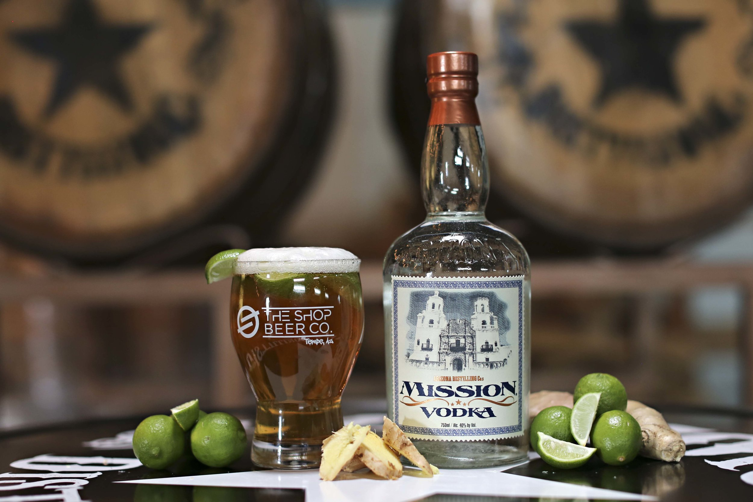 """Moscow Mule - AZ Distilling Collaboration"""