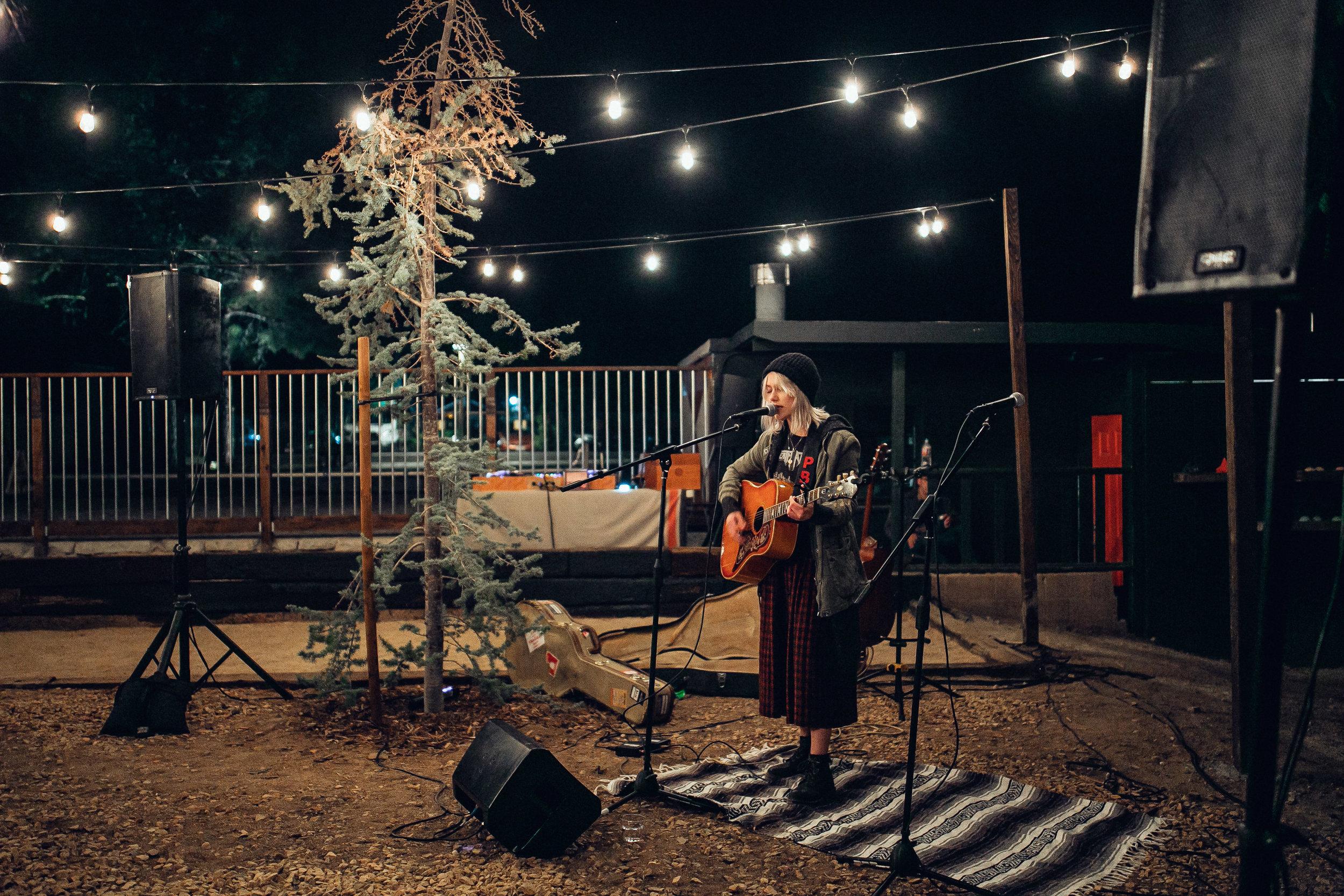 Phoebe Bridgers  serenading us under the meadow lights.