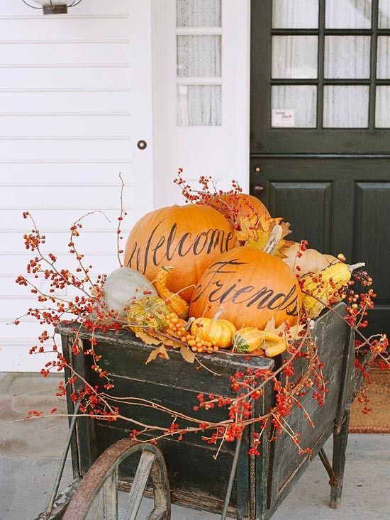 Fall Decor: Home + Lettering