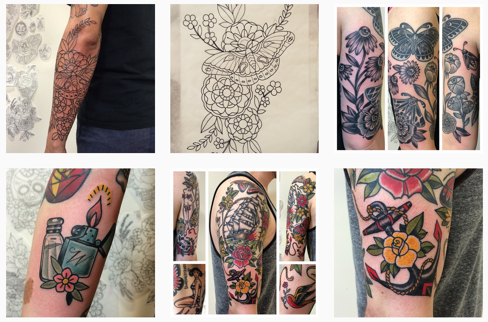 Images courtesy of @karenglasstattoo (Instagram)
