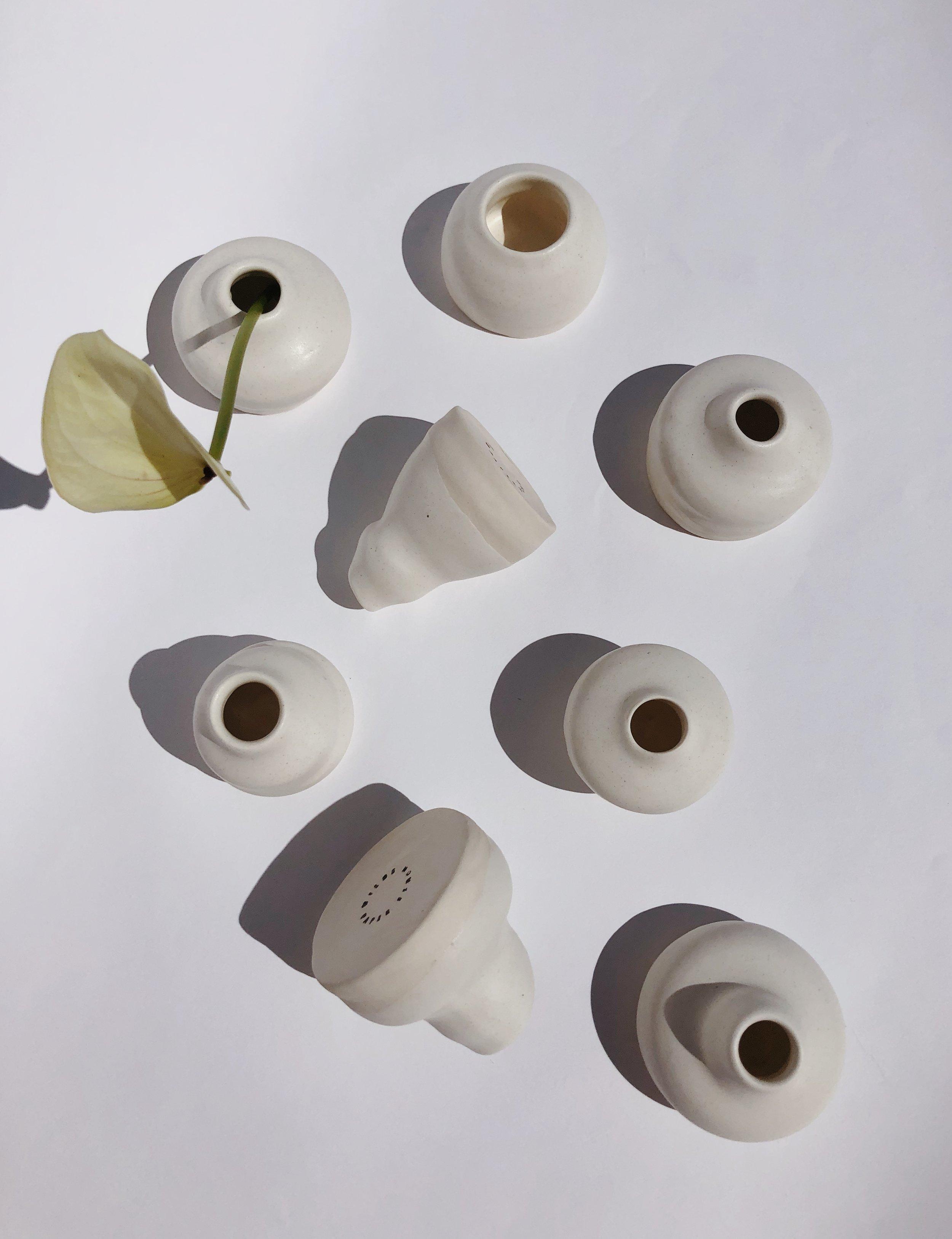 Exclusive Handmade Ceramic Bud Vase