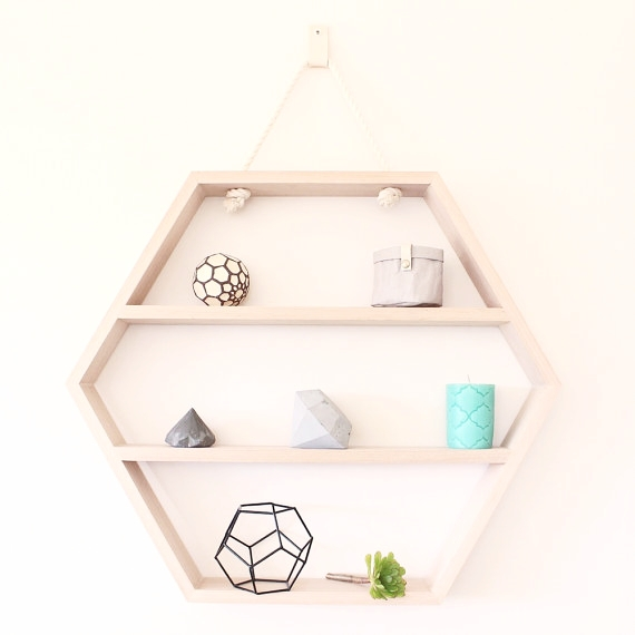 This  hexagon shelf  was a monty for my client - she bought it straight away!