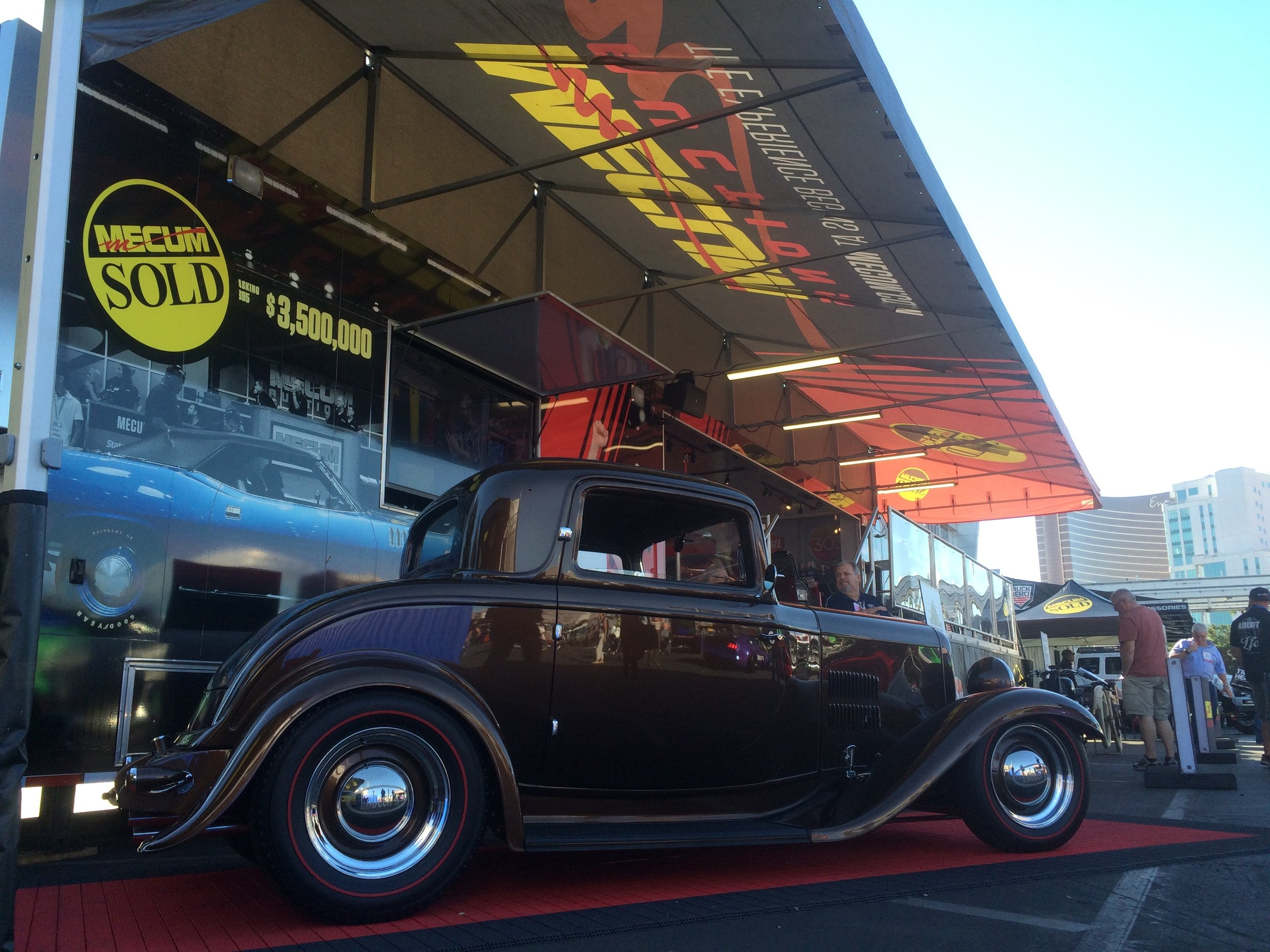the last lobeck at the Mecum mobile experience at sema 2016