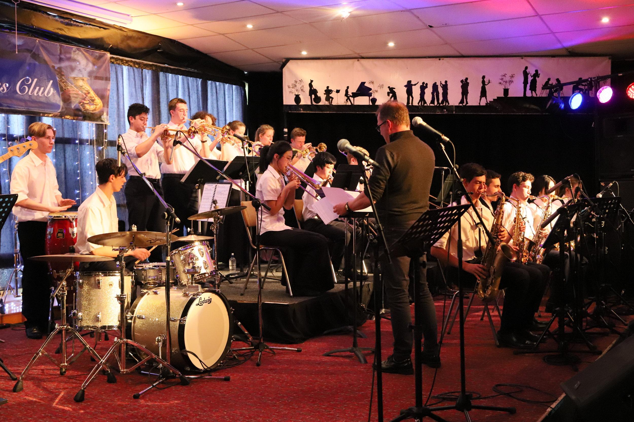 Rangitoto College Big Band_10-8-19