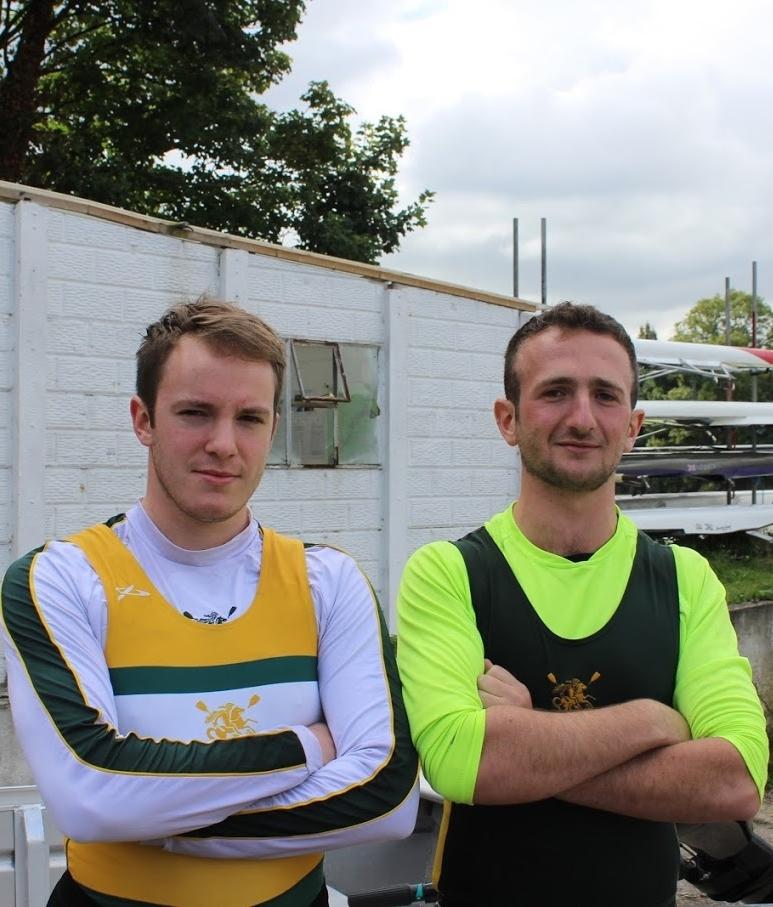 Men's Vice Captains  Will Morrell & Sam Massias