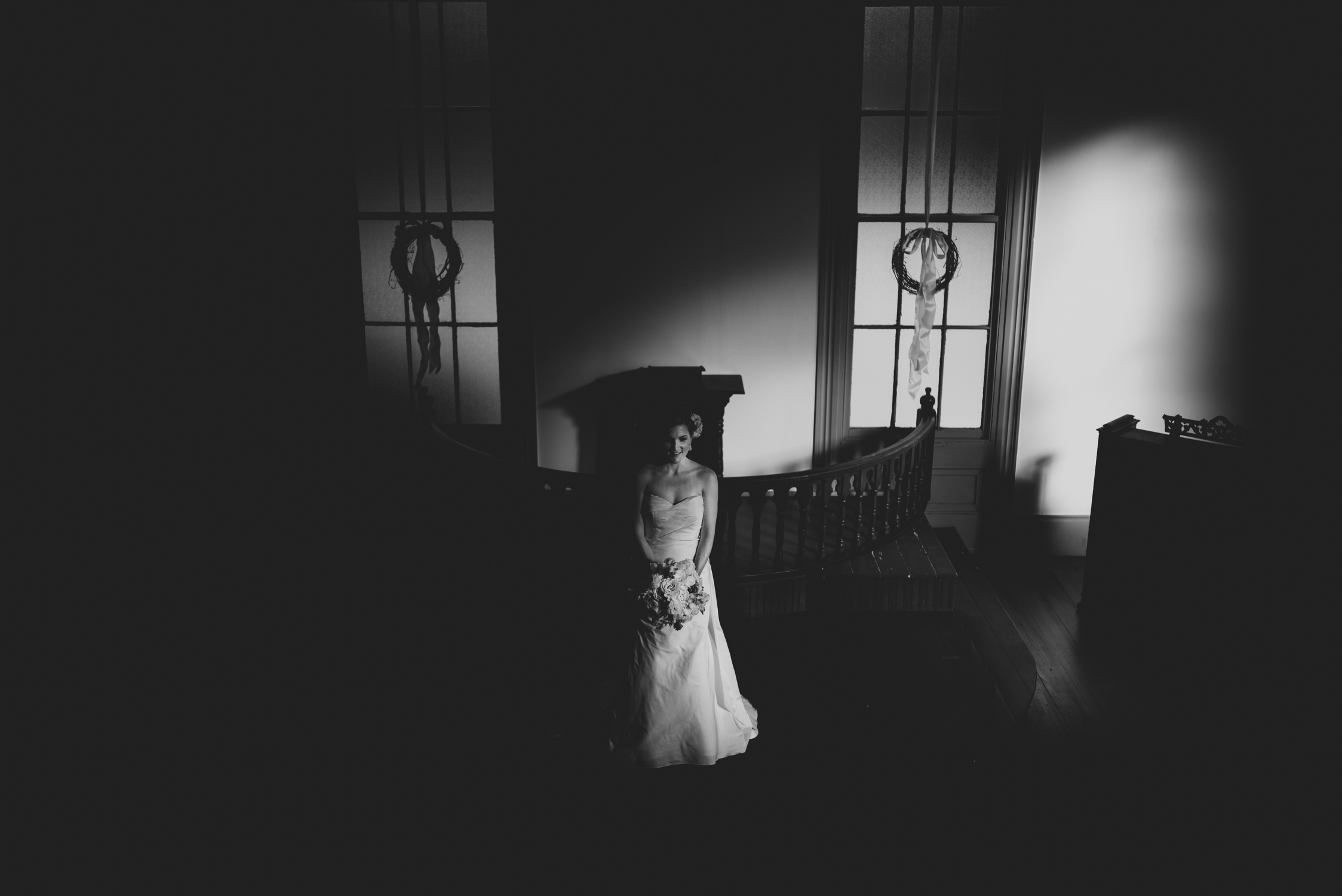 chapel between cotton and gin bridal session