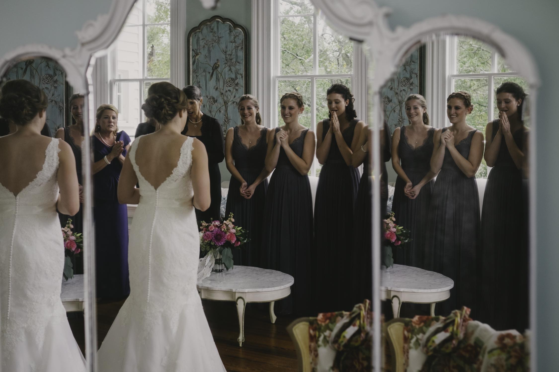 merrimon wynne bridale suit dress reveal