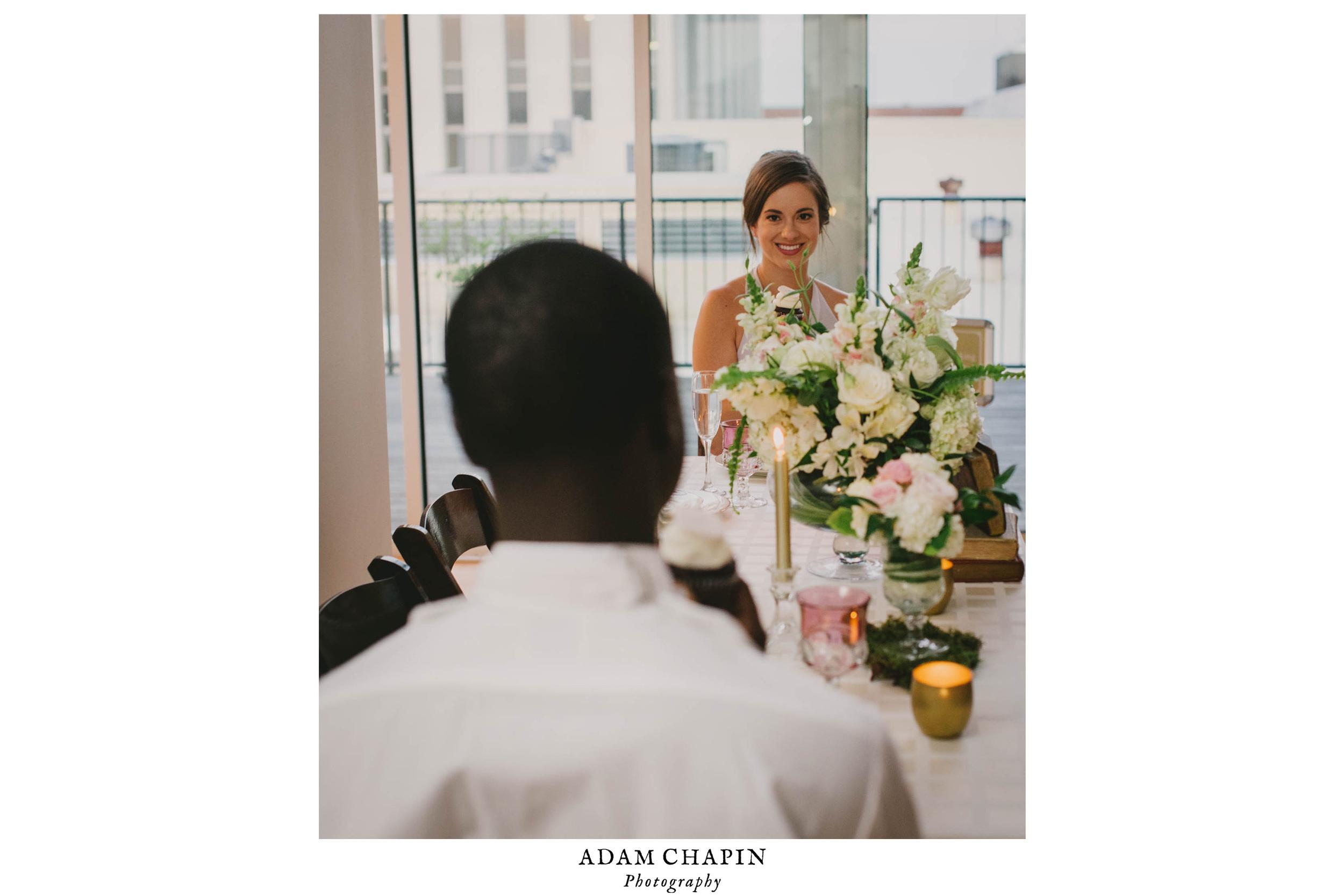 the glass box wedding photo