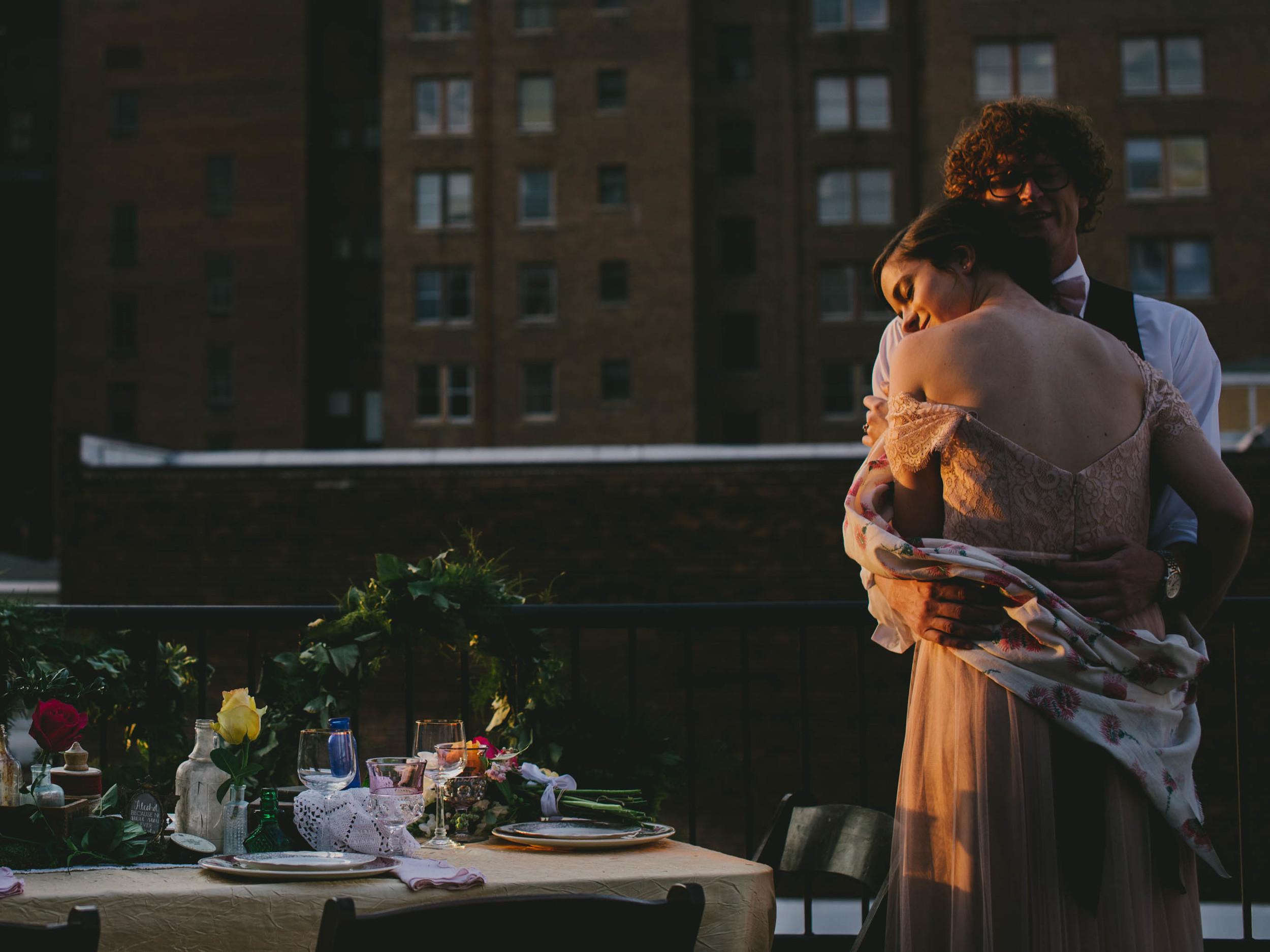 bohemian styled wedding photos
