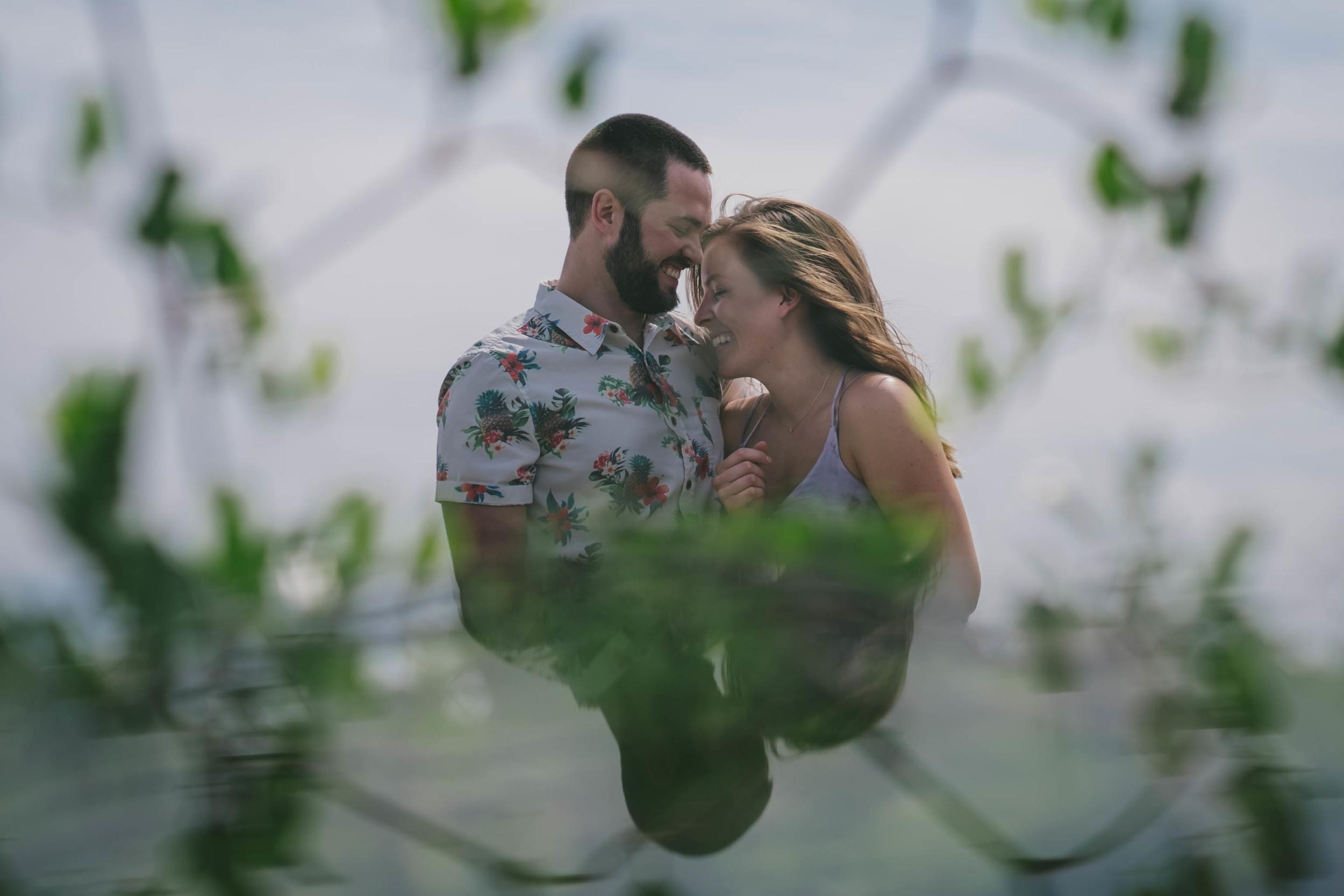 wrightsville beach engagement photo