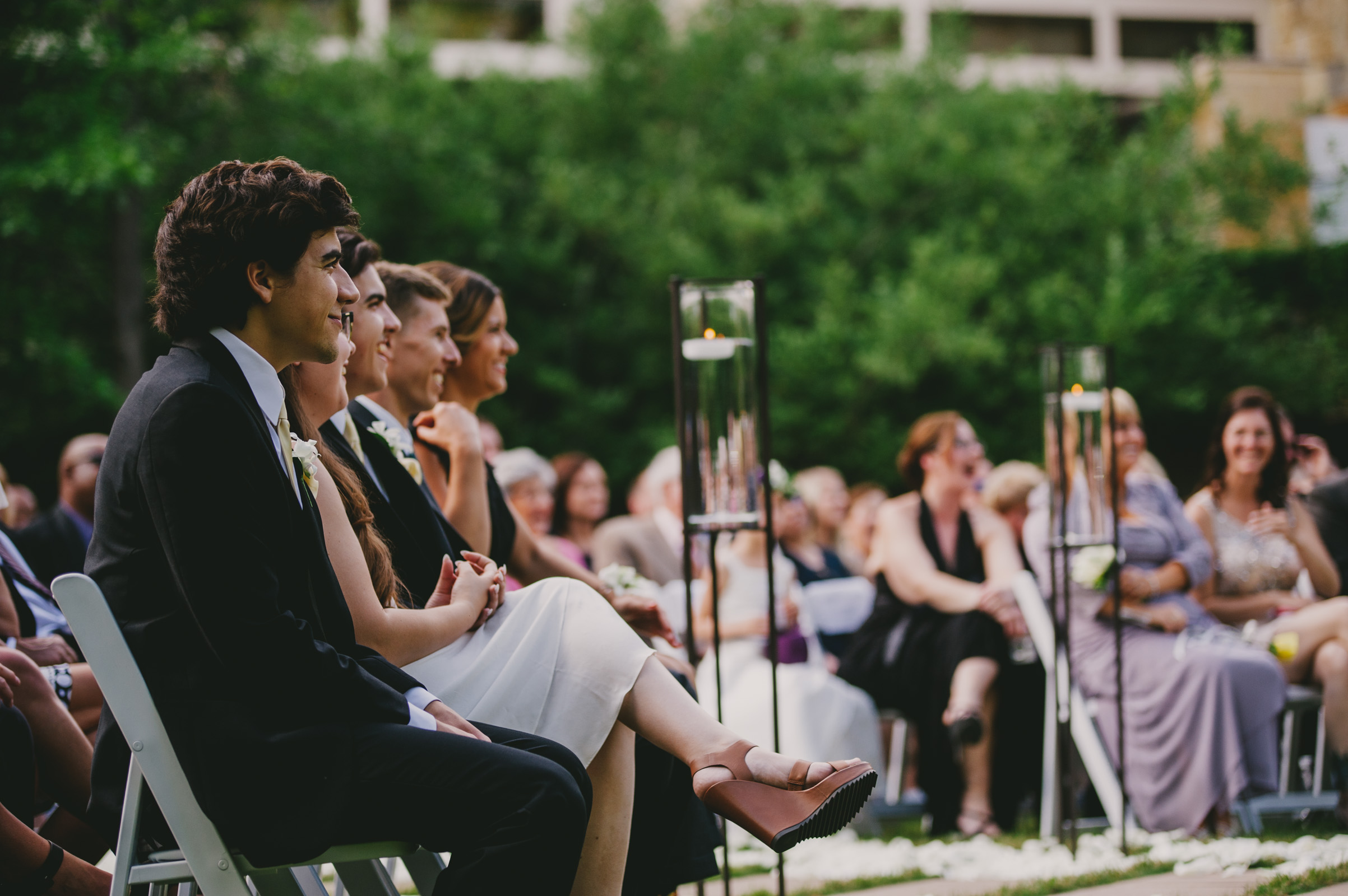 umstead hotel and spa wedding ceremony photos
