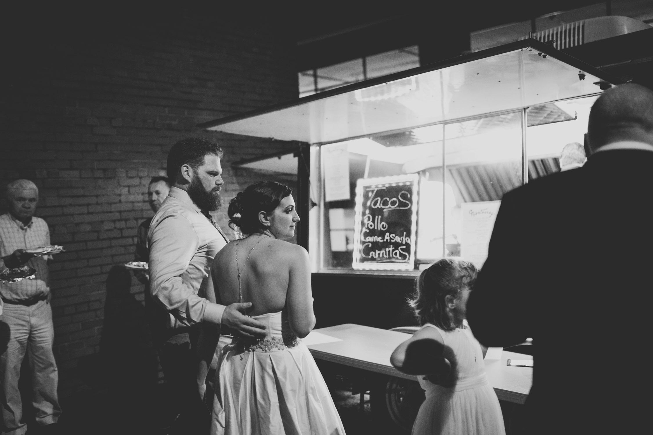 chapel hill wedding reception photo